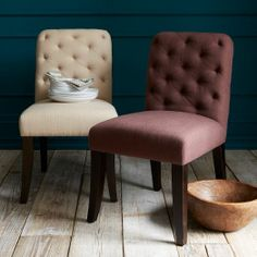 Elton Dining Chair - Flax | west elm