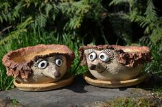 Pottery Animals, Cacti, Monsters, Garden Sculpture, Origami, Insects, Planter Pots, Outdoor Decor, Kids