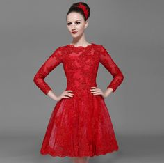 est Long Prom Dresses bestseller include Long Prom Dresses 2014 New Arrival Sheath Scoop Long Sleeve Red LaceAppliques Prom Dress Discount Online Shopping online shopping with worldwide shipping.