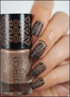 Catrice So Classy, & Stamping using a MoYou-London stamping plate