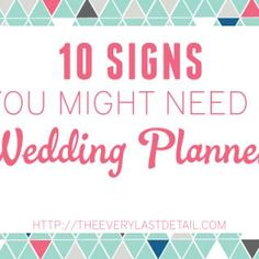 A Wedding Planner Does Not Plan Your Wedding... You Do! via TheELD.com
