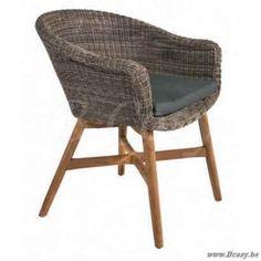 Azur trento design stoel aluminium charcoal anthracite antraciet textileen textylene zilvergrijs - Am pm stoelen ...