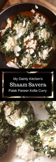Shaam Savera is basically a kofta curry made with spinach & stuffed paneer. This is a rich and creamy curry. Lets learn shaam savera. Paneer Recipes, Garlic Recipes, Curry Recipes, Vegetarian Recipes, Cooking Recipes, Veg Recipes, Recipies, Indian Fish Recipes, Fried Fish Recipes