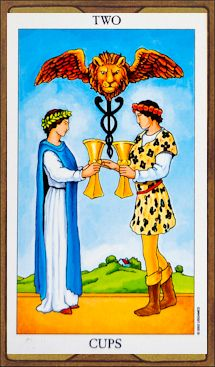 Two of Cups - Tarot Card Meaning & Interpretation