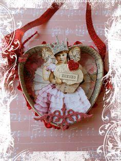 Altered Altoid Tin -- Valentine's Day
