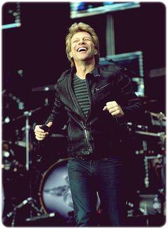 Jon Bon Jovi. Being adorable. <3