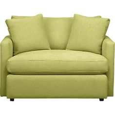 Green chair & a half