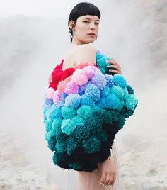 And another because they are too good not to! Photography by @djenebaaduayom #pompomjacket #pompom #fashionshoot #iceland #streetwearmastered #masteredlive #masteredhq