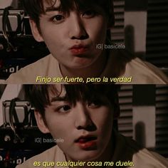 Bts Quotes, Some Quotes, Frases Bts, Words Can Hurt, Bts Lyric, Sad Life, I Love Bts, Happy Moments, Spanish Quotes