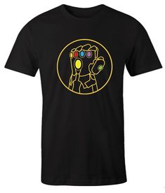 Infinity Gauntlet impressive T Shirt Comfortable Outfits, Direct To Garment Printer, Types Of Shirts, Cool T Shirts, Infinity, Mens Tops, Prints, Clothes, Women