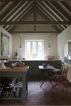 An inspirational image from Farrow & Ball. - Card Room Green