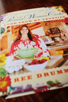 The Pioneer Woman:Food From My Frontier. One of these days I'll own one of her cookbooks.  Pinky promise!