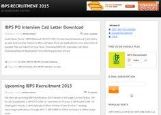 IBPS clerk notifications exam Dates