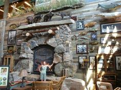 Bass Pro Shop Bass Pro Shop, Trophy Rooms, Luxury Cabin, Rustic Fireplaces, Inside Home, Rustic Room, Shop Interiors, Colorado, Game Room