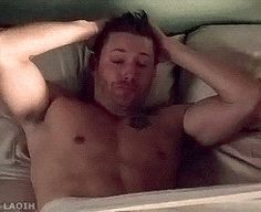 "Jensen Ackles as Dean Winchester. ""THUD"""