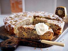 Buttermilchkuchen mit Apfel und Mohn Rezept - Chefkoch-Rezepte auf LECKER.de | Kochen, Backen und schnelle Gerichte