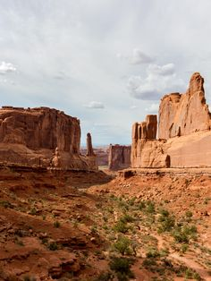 Towards the start of the park before the arches Arches National Park [OC](22503000] #reddit