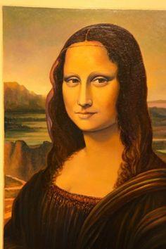 Interpetación de la Gioconda-Leonardo Mona Lisa, Artwork, Work Of Art, Auguste Rodin Artwork, Artworks, Illustrators