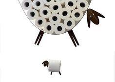 Schapen-plank - een toiletpapier-opslag voor een groot aantal rollen. Dit schap kunt u plaatsen op een gemakkelijke en vreugdevolle manier een hele reeks toiletpapier (30 rollen) op een muur, vrijmaken van enkele kostbare vierkante voet. Mijn schapen door zelf is een zeer doordachte schaap en