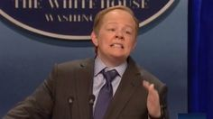 McCarthy's Press Secretary rivals Alec Baldwin's Donald Trump.