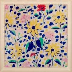 Midi   Natural Curiosities beautiful textile archives of French engraver, painter, and textile artist Paule Marrot (1902-1987)