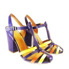 Sandália Azul 1216