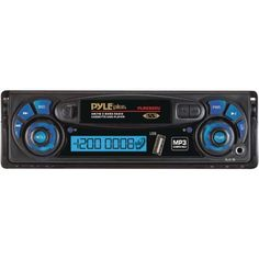Pyle PLRCS20U AM/FM Radio Digital Display Auto Reverse Car Cassette Player MP3 Compatible Built-In USB/AUX-In by Pyle. $44.99. This Pyle View headunit is a retro-modern masterpiece. It's equipped with an AM/FM radio, cassette deck, and USB port. Now you can jam out to the disco hits of yesteryear and rock out to modern hypno-funk, all using the same beautiful unit. It's equipped with modern auto-reverse technology, so you can rewind your tapes without pushing...