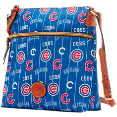 Women's Chicago Cubs Dooney & Bourke Royal Team Color Nylon Crossbody Purse