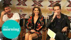 Rylan Interviews X Factor Judges Simon Cowell and Cheryl Fernandez-Versi...