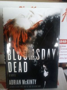 The Bloomsday Dead by Adrian McKinty (2007, Hardcover) 1st/1st *Signed*