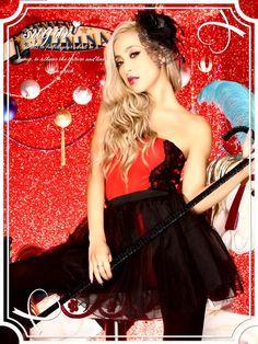 【ハロウィン】Sexyバーレスクダンサーにフロアの視線集中★大胆な露出でメンズのハートを鷲掴み♪コスプレセット[850-sy]