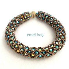 Swarovski bracelet by Emel Bas from Turkey