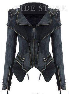 my style denim jacket