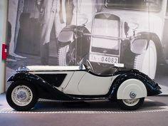 Antique car, BMW Museum, Munich