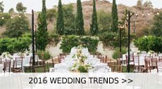 After talking about wedding color trends for 2016, it's wedding themes this time. Brides are getting exotic, food will be served from trucks, and weddings are frequently returing to the beautiful nature, these are wha...