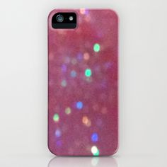 Lighting Up the Pink iPhone & iPod Case by TheseRmyDesigns