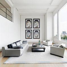 meandmybentley:  Parisian Loft 6e by American-born Paris-based designer Elliott Barnes. #meandmybentley