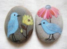 Galets peints 石头