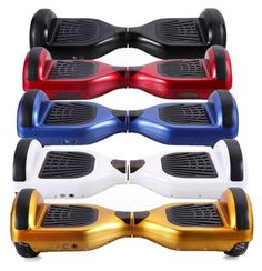 eef379835dd HOVERBOARD Self Balancing Scooter with BLUETOOTH Speaker 6.5 Inch Two Wheel  Scooter