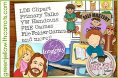 fun LDS printables and stories
