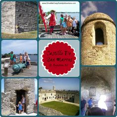 Historical Forts in Florida! Travel to St. Augustine, FL