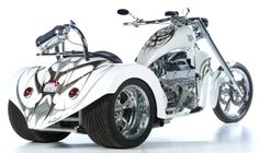 Pics of meanest baddest V8 Chopper Trike Wanted