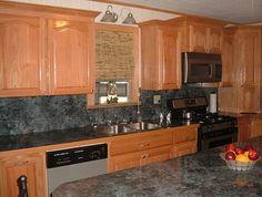kichen design oak cabinets | Kitchen Cabinets with Oak Materials Oak Kitchen Cabinets for Aesthetic ...