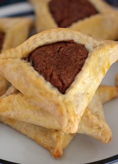 Nutella-Filled Hamantaschen — Home Cooking Recipes Like Mom Used to Make | Mother Would Know