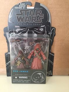 "STAR WARS BLACK SERIES 3.75"" JAWAS FIGURE 2-PACK TATOOINE NEW HOPE #20 HASBRO #Hasbro"