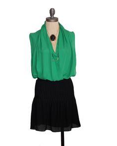 Parker Pintuck Skirt $198.00