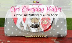 Today on the blog we have another amazing pattern hack for my newly released Cleo Everyday Wallet pattern! This hack is by the talented Leslie from Love Rubie and is all about adding a turn lock to your Cleo (instead of a magnetic snap) – something I'm sure many of you will want to try! …