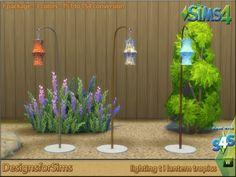 Lighting lantern tropics conversion at Designs for Sims • Sims 4 Updates