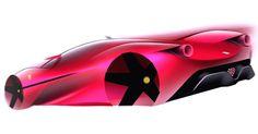 M . H O S H I N O (@hsnmtms) Instagram: «Ferrari F80 quick sketch #cardesign #carsketch #cardrawing #transportationdesign #automotivedesign…»