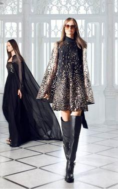 Embroidered Tulle Mini Dress By Elie Saab   Moda Operandi